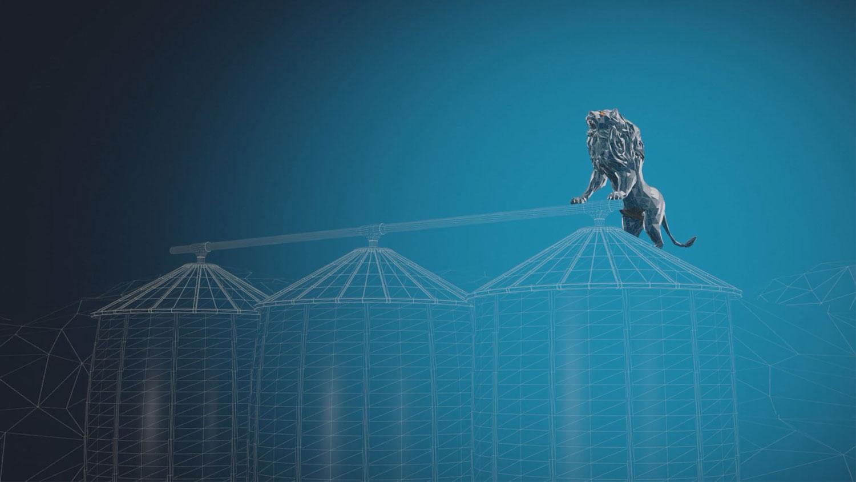 Animation: Löwe